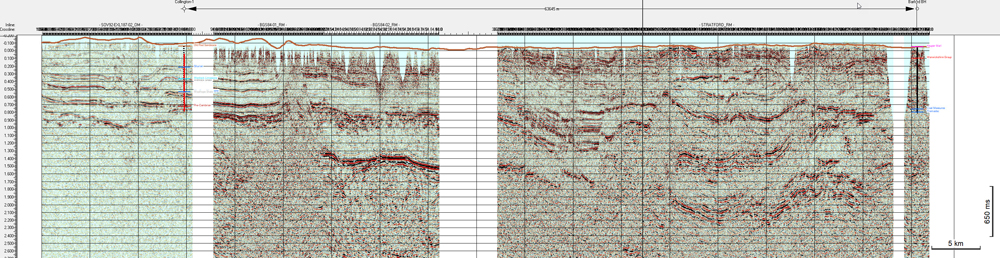 Malcolm Butler Seismic Sections