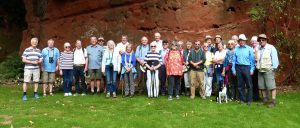 Group in Scar Quarry